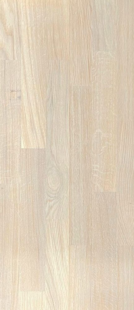 PARKETT Puulux Caroline tamm valge matt lakk 3-lip 12x200x1180 (natur, UniFit X click)