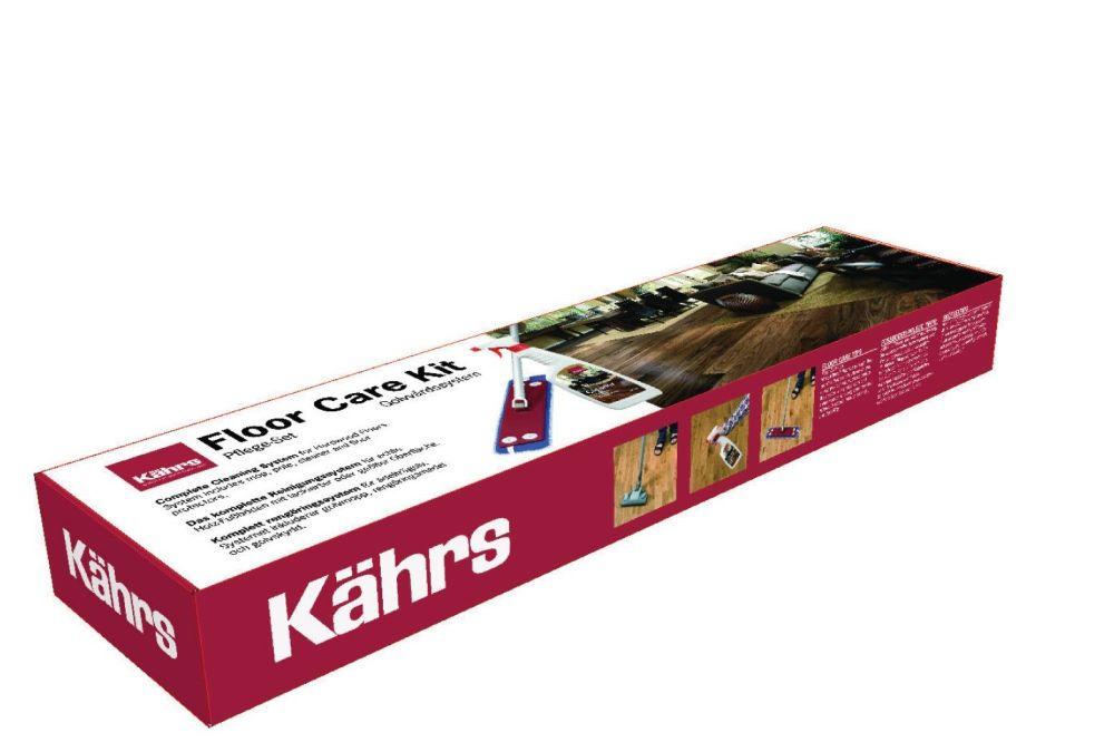 Kährs põrandahoolduse komplekt (Mop, Cleaner, floor protectors) 710526