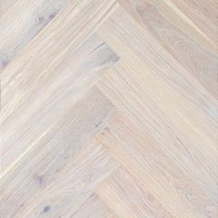 Kalasabaparkett Puulux Roberta tamm valge matt lakk 12x120x600 (rustik, UniFit X click)